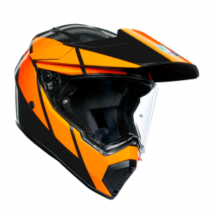 AGV AX9 Trail Multi Hjälm Svart/Orange