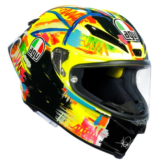 AGV Pista GP R Rossi Winter Test 2019 Limited Adition