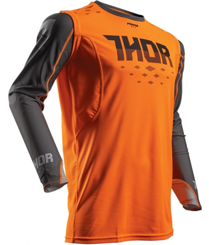 Thor Prime Fit Rohl Crosströja Orange/Grå