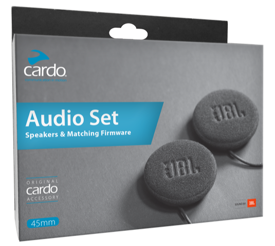 Cardo JBL 45mm HD Audiokit