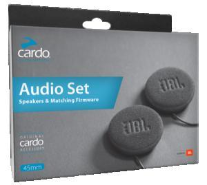 Cardo JBL 45mm HD Audiokit