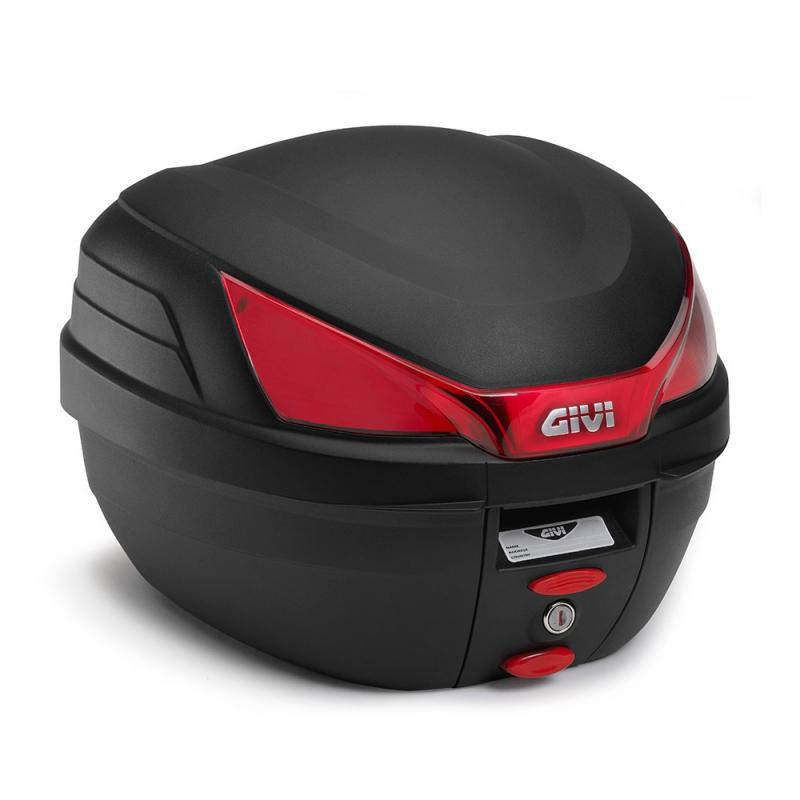 Givi B27 monolock Toppbox Svart/Röd