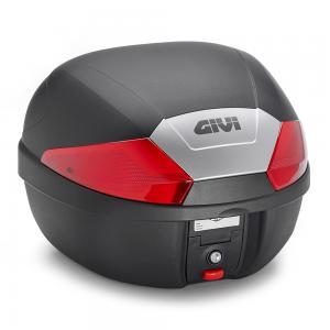 Givi B29 monolock Toppbox Svart/Röd