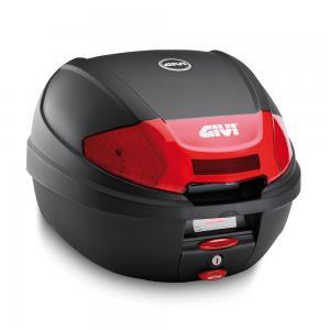 Givi E300N2 monolock Toppbox Svart/Röd