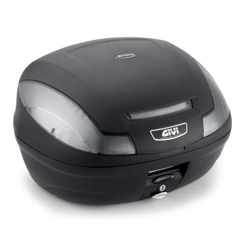 Givi E470 Simply III Tech monolock Toppbox Svart