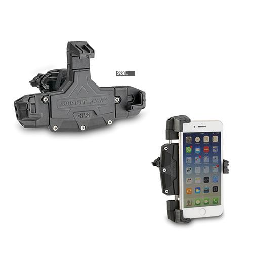 Givi S920L Smart Clip Universal Mobilhållare Svart