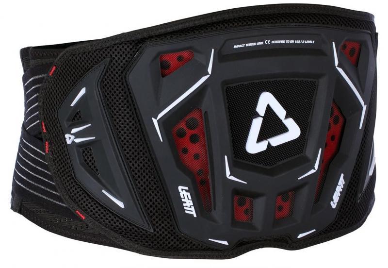 Leatt Njurbälte 3Df 3.5 Svart/Röd