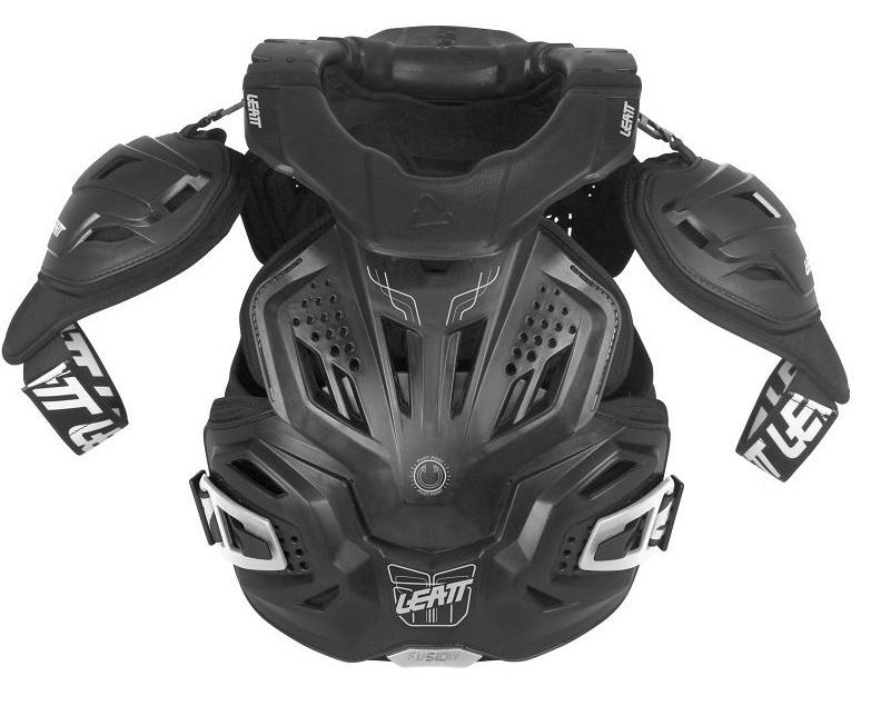 Leatt Fusion 3.0 Skyddsväst Svart