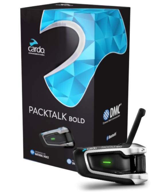 Cardo Scala Packtalk Bold Single Intercom
