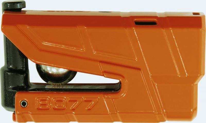 Abus 8077 Granit Detecto Bromsskivlås Orange
