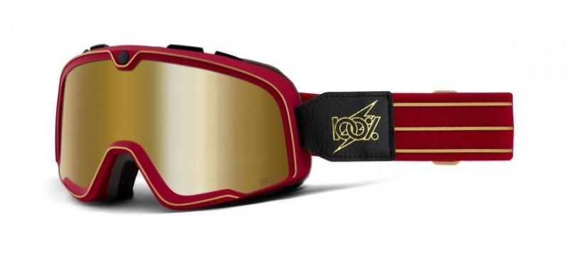100% Barstow Crossglasögon Cartier, Guld Siktskiva