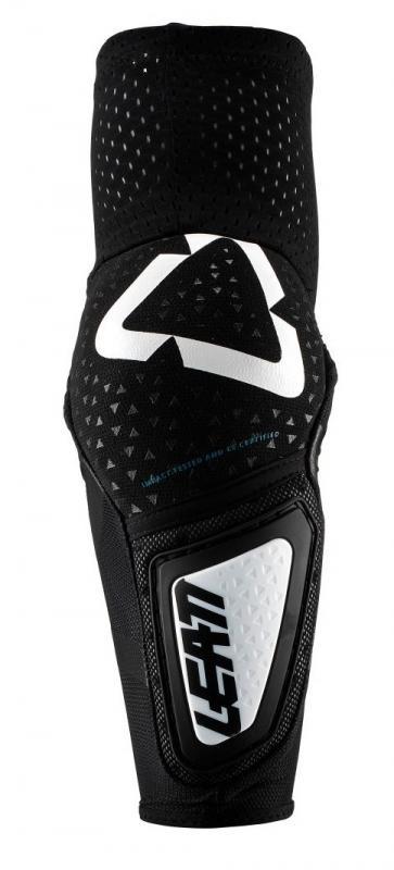 Leatt 3DF Hybrid Armbågsskydd Vit/Svart