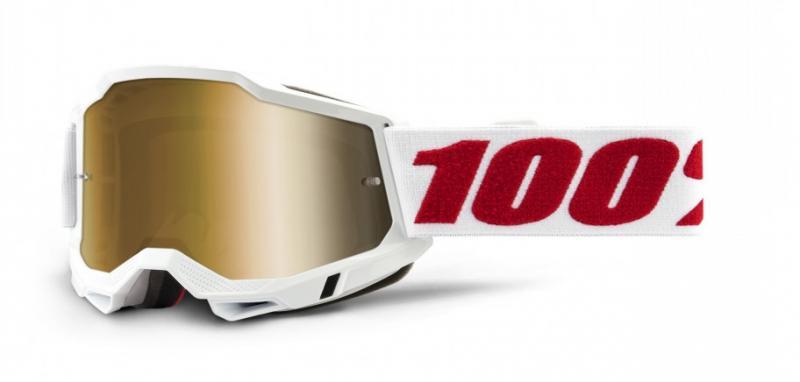 100% Accuri 2 Crossglasögon Denver, Guld Siktskiva