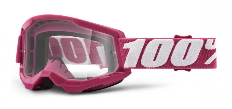 100% Strata 2 Crossglasögon Fletcher, Klar Siktskiva