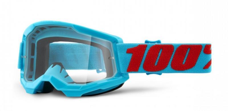 100% Strata 2 Crossglasögon Summit, Klar Siktskiva