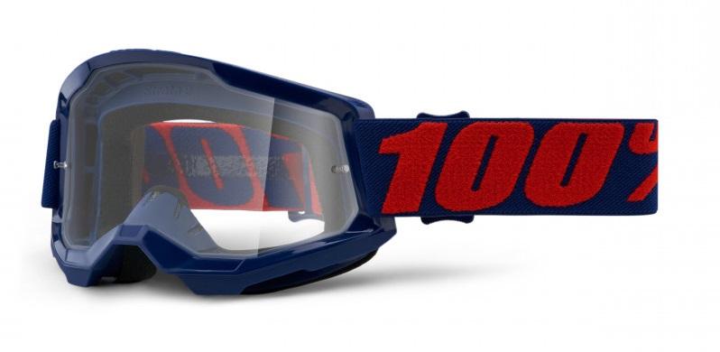 100% Strata 2 Crossglasögon Masego, Klar Siktskiva