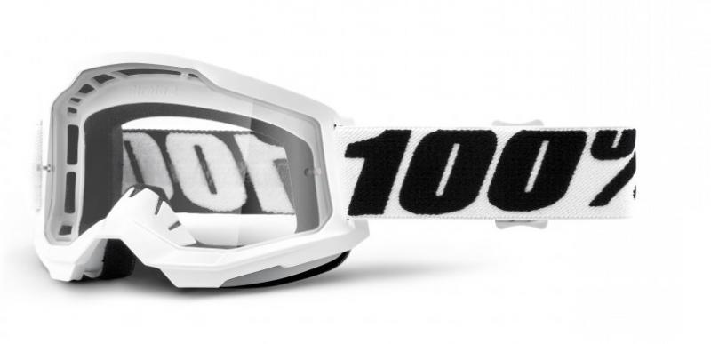 100% Strata 2 Crossglasögon Everest, Klar Siktskiva
