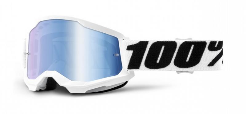 100% Strata 2 Crossglasögon Everest, Blåspegel Siktskiva