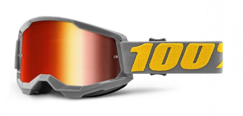 100% Strata 2 Crossglasögon Izipizi, Rödspegel Siktskiva