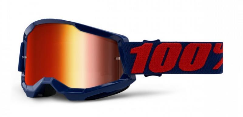100% Strata 2 Crossglasögon Masego, Rödspegel Siktskiva