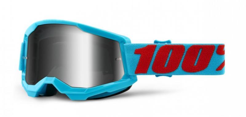 100% Strata 2 Crossglasögon Summit, Silverspegel Siktskiva
