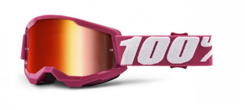 100% Strata 2 Barn Crossglasögon Fletcher, Rödspegel Siktskiva