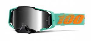 100% Armega Clark Crossglasögon Grön, Silverspegel Siktskiva