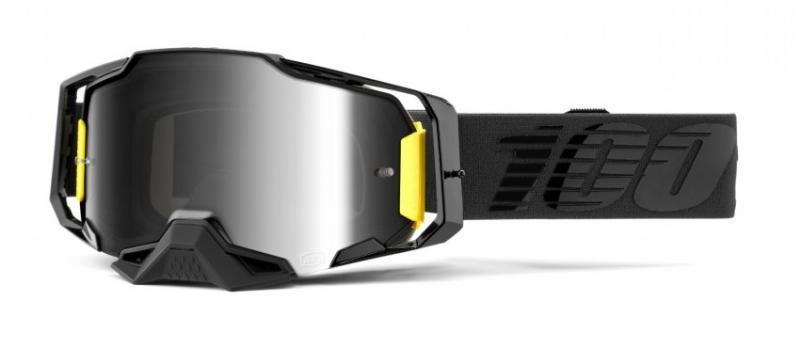 100% Armega Nightfall Crossglasögon, Silverspegel Siktskiva