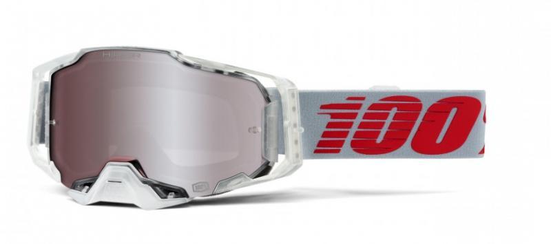 100% Armega X-Ray Crossglasögon, HiPER Silver Siktskiva