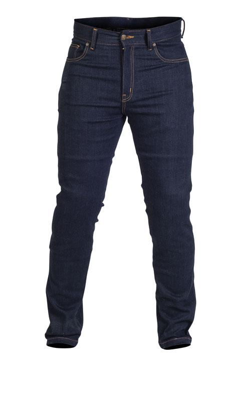 Twice Duff Slim Fit Herr Textil Jeans Blå