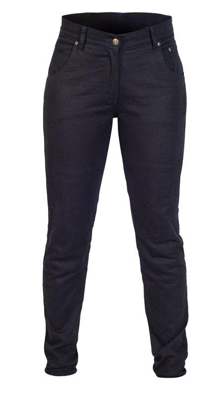 Twice Dora Slim Fit Dam Textil Jeans Svart