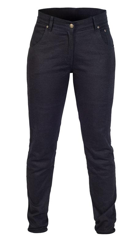 Twice Dora Slim Fit Dam Kevlar® Jeans Svart