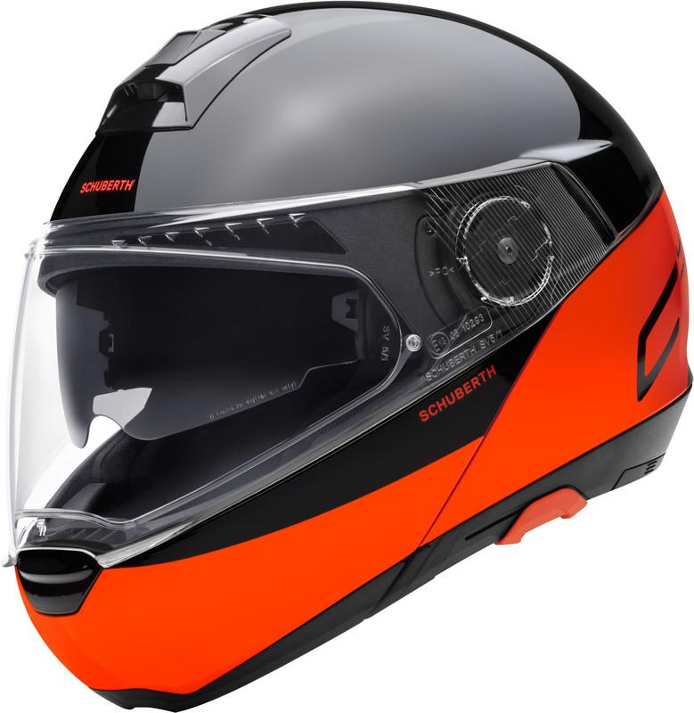 Schuberth C4 PRO Swipe Hjälm Orange