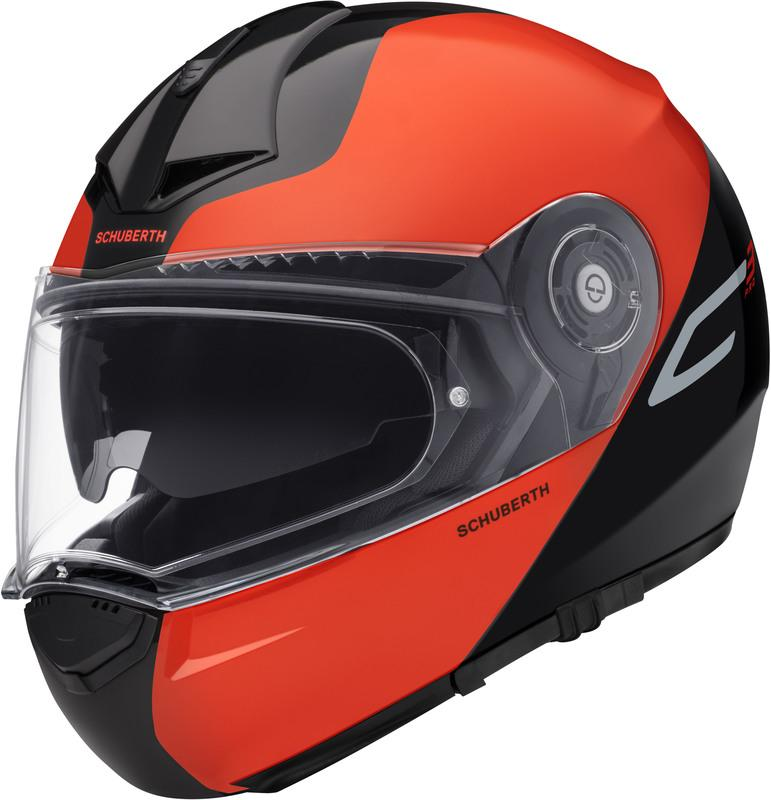 Schuberth C3 PRO Split Hjälm Orange