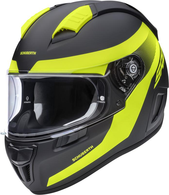 Schuberth SR2 Resonance Hjälm Gul
