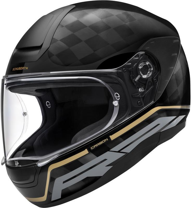Schuberth R2 Carbon Stroke Hjälm Svart/Gold