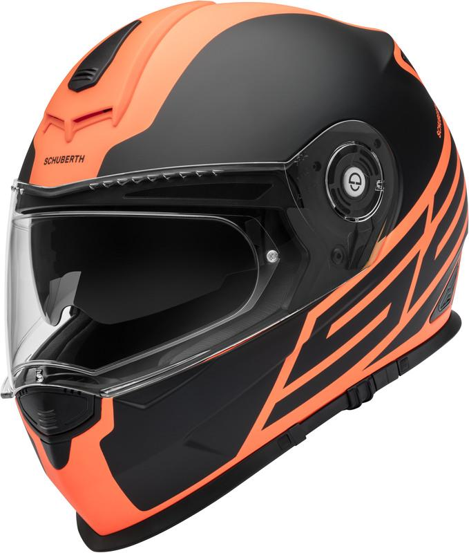 Schuberth S2 Sport Traction Hjälm Orange