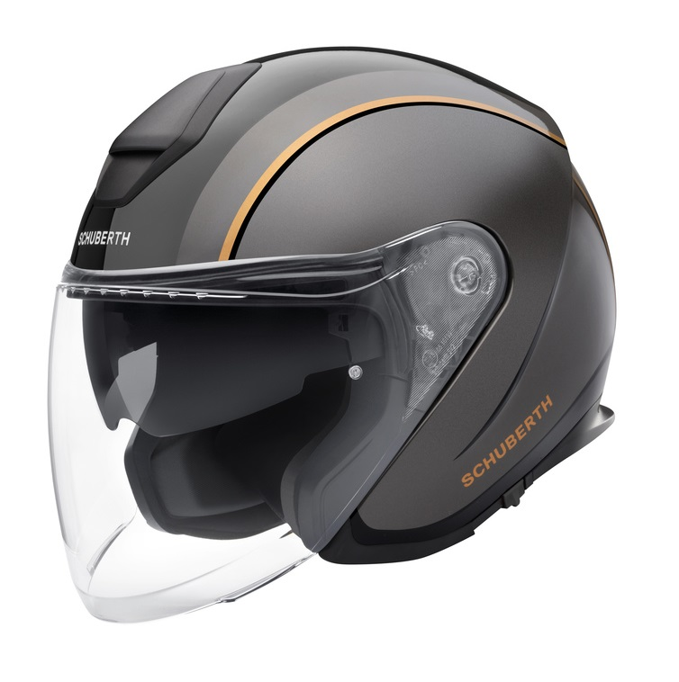 Schuberth M1 PRO Outline Hjälm Svart/Orange