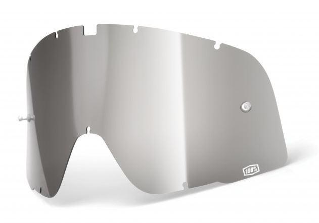 100% Barstow Enkel Siktskiva Silverspegel
