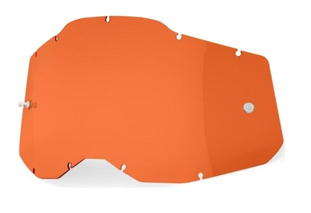 100% AC2 / RA2 / ST2 Enkel Siktskiva Orange