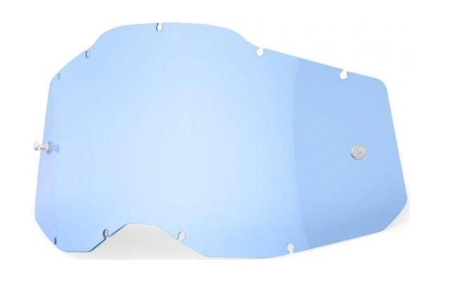 100% AC2 / RA2 / ST2 Enkel Siktskiva Blå