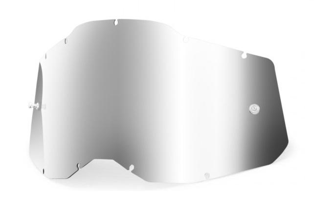 100% AC2 / RA2 / ST2 Enkel Siktskiva Silverspegel