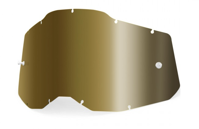 100% AC2 / RA2 / ST2 Enkel Siktskiva Guld