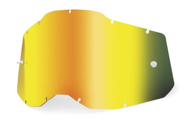 100% AC2 / RA2 / ST2 Enkel Siktskiva Guldspegel