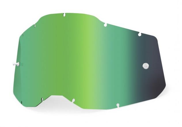 100% AC2 / RA2 / ST2 Enkel Siktskiva Grönspegel