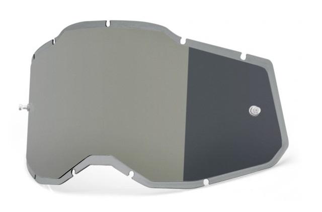 100% AC2 / RA2 / ST2 Injected  Enkel Siktskiva Silverspegel
