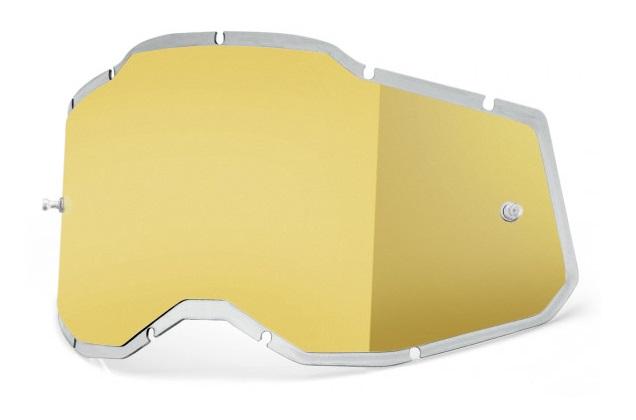 100% AC2 / RA2 / ST2 Injected  Enkel Siktskiva Guldspegel