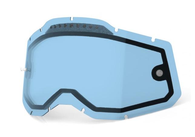 100% AC2 / RA2 / ST2 Ventilerad Dubbel Pane Siktskiva Blå