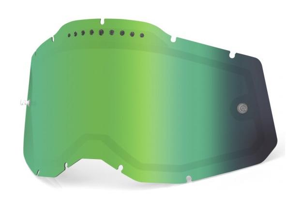 100% AC2 / RA2 / ST2 Ventilerad Dubbel Siktskiva Grönspegel