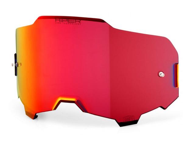100% Armega HiPER Enkel Siktskiva Rödspegel